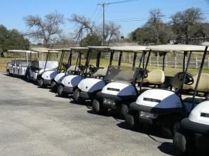 Rental fleet front view